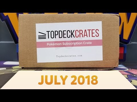 Pokemon Top Deck Crate Opening and Review | Olivine City! [July 2018]