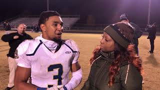 Post game with Hylton HS RB Ricky Slade after his 4TD show out!!