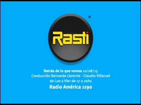 Mención Radio america 15-08-10 de RASTI
