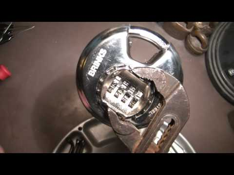 (220) DECODING a Brinks 80mm Disc Combo Lock