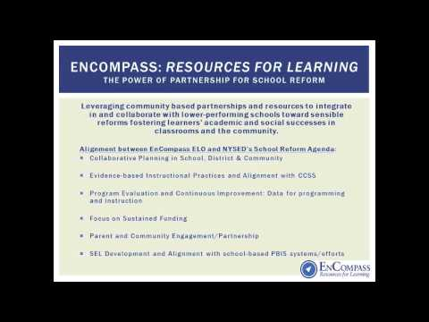 ELO and School Reform Webinar
