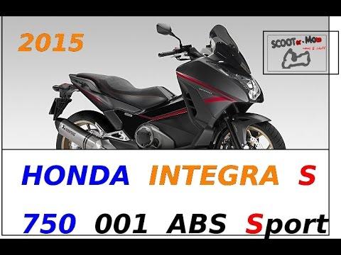NEW 2015 HONDA INTEGRA 750 S 001 ABS Sport edition...