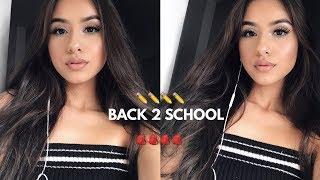 BACK TO SCHOOL MAKEUP 2017-2018 | Anais Lopez