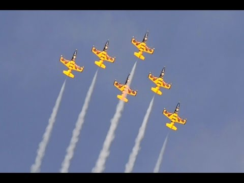 Baltic Bees Jet Team at Radom Airshow 2015