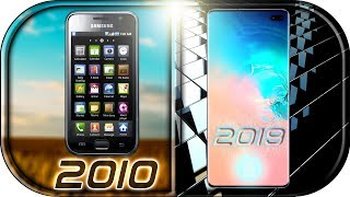 EVOLUTION of SAMSUNG GALAXY S Phones (2010-2019) 🙊 Samsung Galaxy s10 official trailer leaked 2019