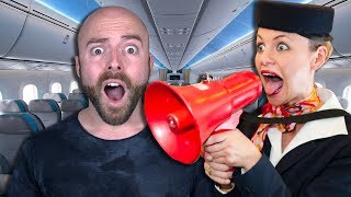 10 Craziest Incidents on a Commercial Airplane!