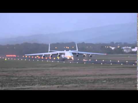 Antonov 225 Takeoff Shannon Airport   HD 2015