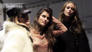 H&M Fall/Winter 2013-14 BACKSTAGE ft. Arizona Muse | Paris Fashion Week | FashionTV