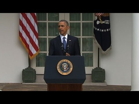 President Obama says the Supreme Court\'s same-sex marriage decision is another step toward equality in the United States.
