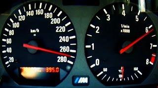 BMW M3 E36 Acceleration 0-270 3.2L Onboard Sound Autobahn Highway Autostrada