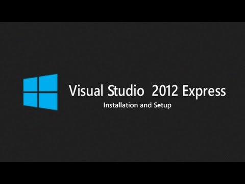 How to Download and Install Visual Studio 2012 Express on Windows 8