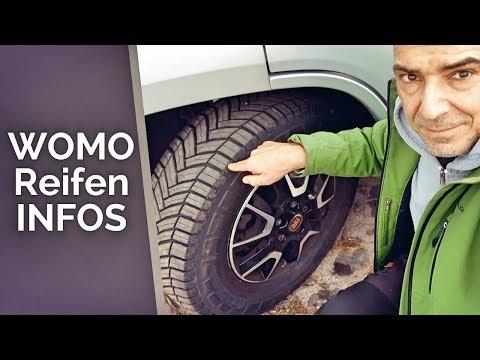 Reifen-Info für Wohnmobil und Kastenwagen - Reifencodierung & Kennzeichnung - Schneeflocke 2018