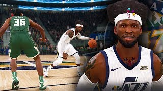 NBA Live 19 The One Career | NEW STREET BALL DRIBBLE GAWD MOVES BREAKS HIS ANKLES!