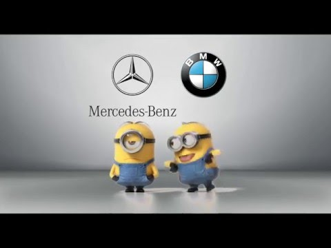 Mercedes-Benz vs. BMW Minions Style