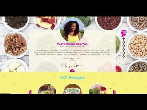 HS Musical Star Monique Coleman Asks: Is Your Salad a High Calorie Land Mine?