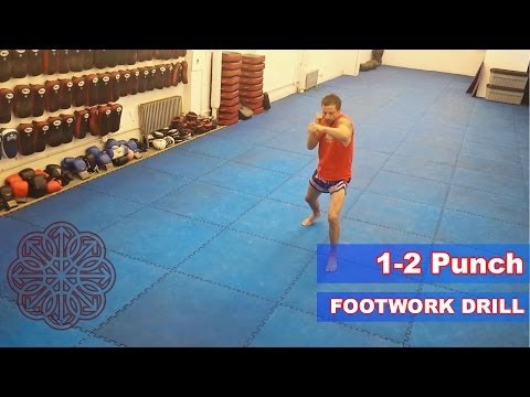 Muay Thai Footwork Drill for Punches Image 1
