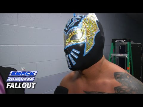 Sin Cara Has Some Bad News - Smackdown Fallout - January 09, 2015 video