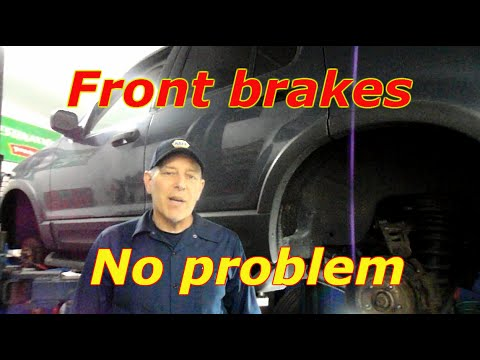 How to replace the front brakes and rotors on a 2003 Ford Explorer