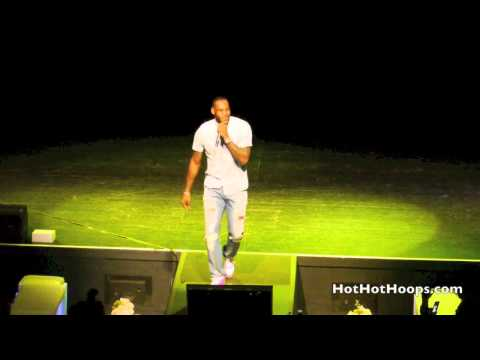 Battioke 2014 - LeBron James with Michael Beasley sing