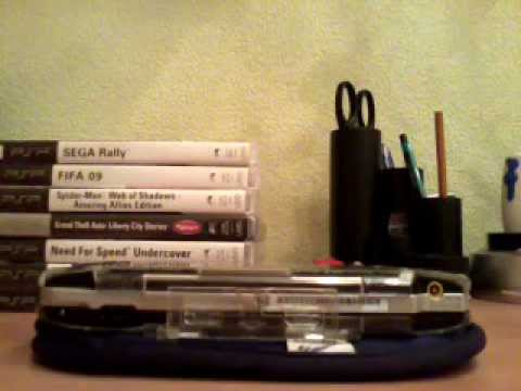 Обзор моих игр на PSP и самой приставки