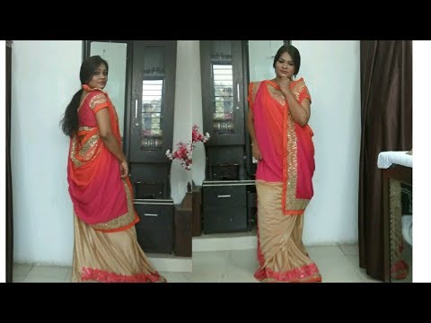 How To Wear A Bengali Style Saree Perfectly Step By Step - Saree Draping Tutorial in 2 Mins