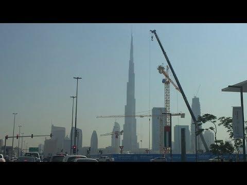 Abu Dhabi to Dubai U.A.E. / Burj Khalifa (828m) inside & Burj al Arab. The Dubai Mall