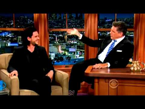 Kit Harington ~ The Late Late Show {with Craig Ferguson}