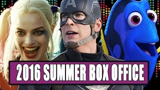 16 Summer 2016 Box Office Predictions