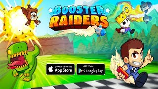 Booster Raiders - Android/iOS Gameplay (By Halfbrick Studios )