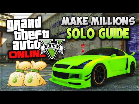 GTA 5 SOLO Unlimited Money Missions!