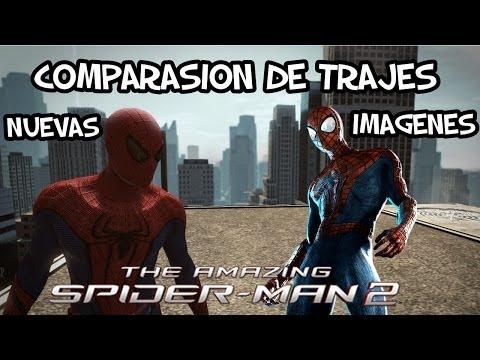 The Amazing Spider-Man 2 El Juego Comparasion de Trajes Nuevas Imagenes y mas