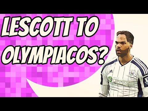 Olympiacos chasing West Brom centre-back Joleon Lescott