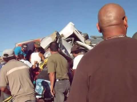 CARAMBOLAEN TECATE-MEXICALI 5 MUERTOS