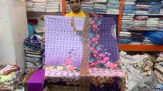 Omg!!পাইকারি দামে কিনুন নুর ব্যান্ডের ৩D থ্রি পিচ কালেকশন   Pakistani 3D Nur Digital dress collectio