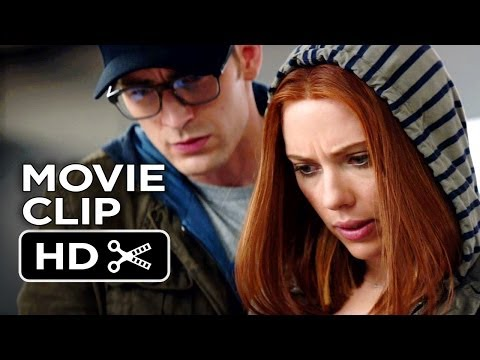Captain America: The Winter Soldier Movie CLIP - Hacking (2014...