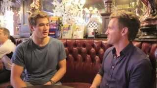 London 2012: Olympic Swimmer Nathan Adrian for ET Online