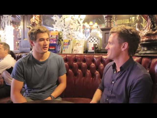 London 2012: Olympic Swimmer Nathan Adrian for ET Online
