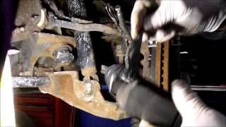 How To Replace The Front Brakes And Caliper On A 2007 Chevy Silverado