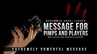 Message for Pimps & Players – Muhammad Abdul Jabbar