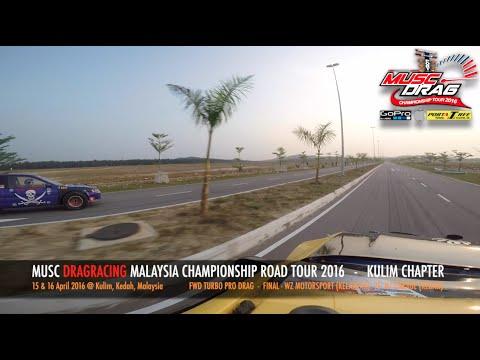 GoPro On Board 6 - Musc Drag Racing Kulim 2016