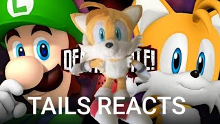 Tails reacts: Luigi vs Tails Death Battle
