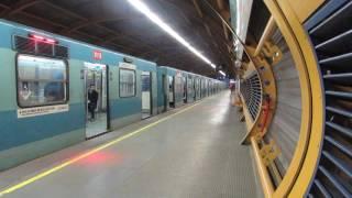 Trenes Alstom por estación Mirador