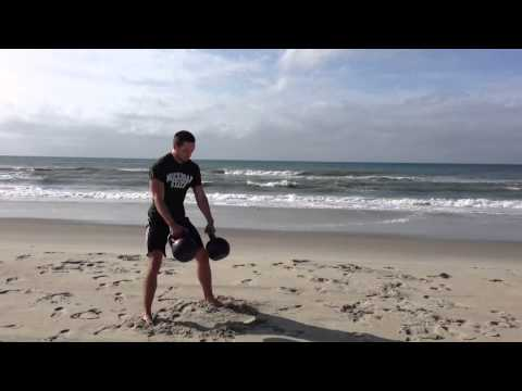 Double Kettlebell Clean And Press Technique Reference Image 1