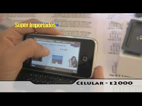 Celular E2000 WIFI. Teclado Deslizable. Doble sim (dual). Tv. Mp3. Camara. WWW.SUPERIMPORTADOS.COM