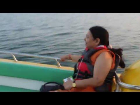 Speed Boat ride Bhavani Island