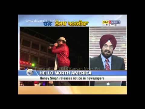 Hello North America - Yo Yo Honey Singh & Separate Memorials - 31 May 2013