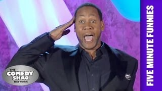 Mark Curry⎢How to end all crime and save the economy⎢Shaq's Five Minute Funnies⎢Comedy Shaq
