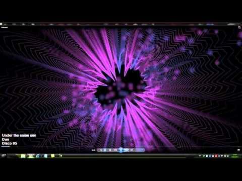 windows media player 12 cheio de efeito especial