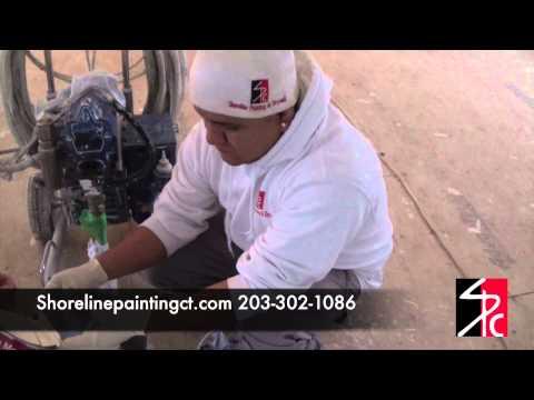 Shoreline Painting  – Benjamin Moore Satin Impervo Oil