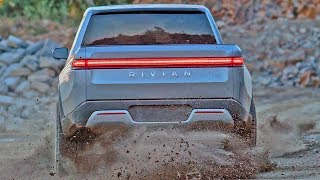 FIRST EVER Electric Pickup Truck - 2021 RIVIAN R1T